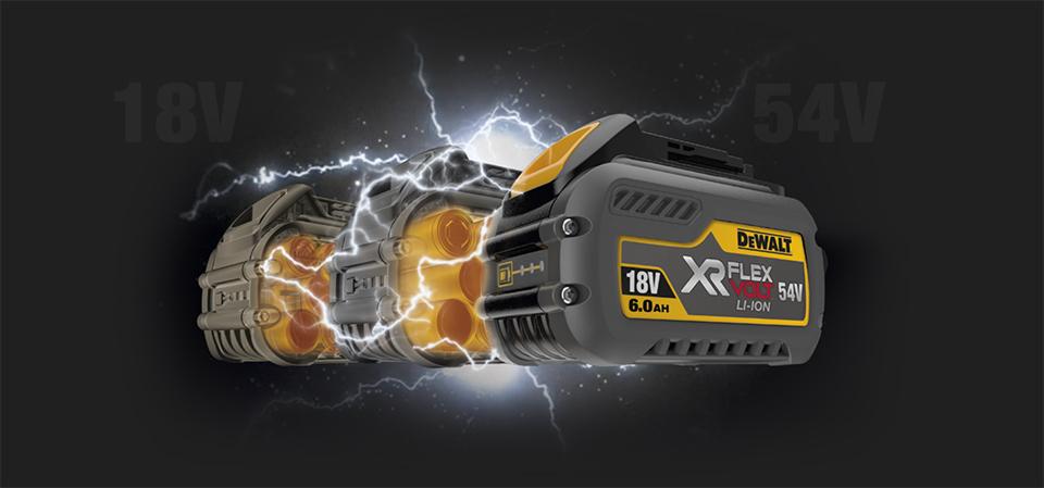 Dewalt Batterie Flex Volt