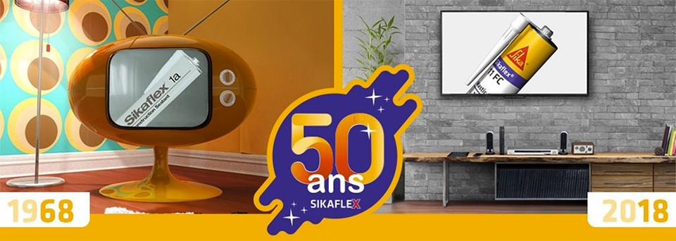 50 ans Sikaflex
