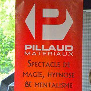 Soirée Pillaud Matériaux Magie et Hypnose